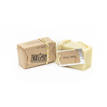 Bean and Boy baby soap